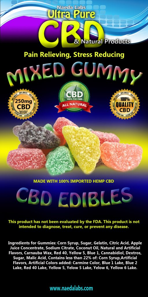 CBD Gummy 250mg...